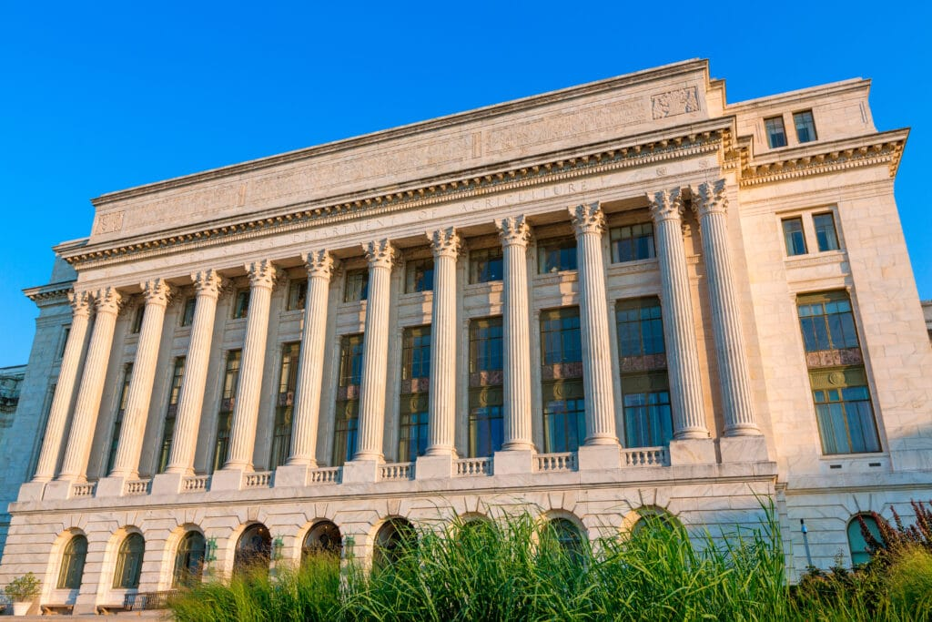 United States department of agriculture Washington